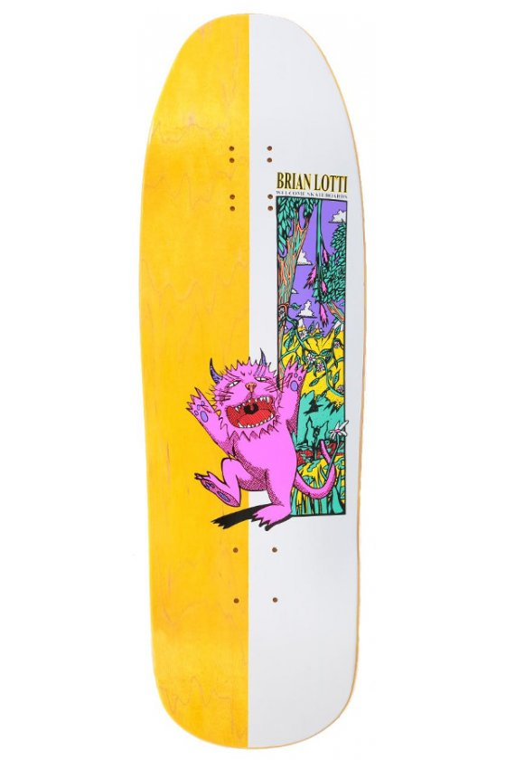 "Welcome - Team Brian Lotti Wild Thing Yellow 9.6"" On Gaia"