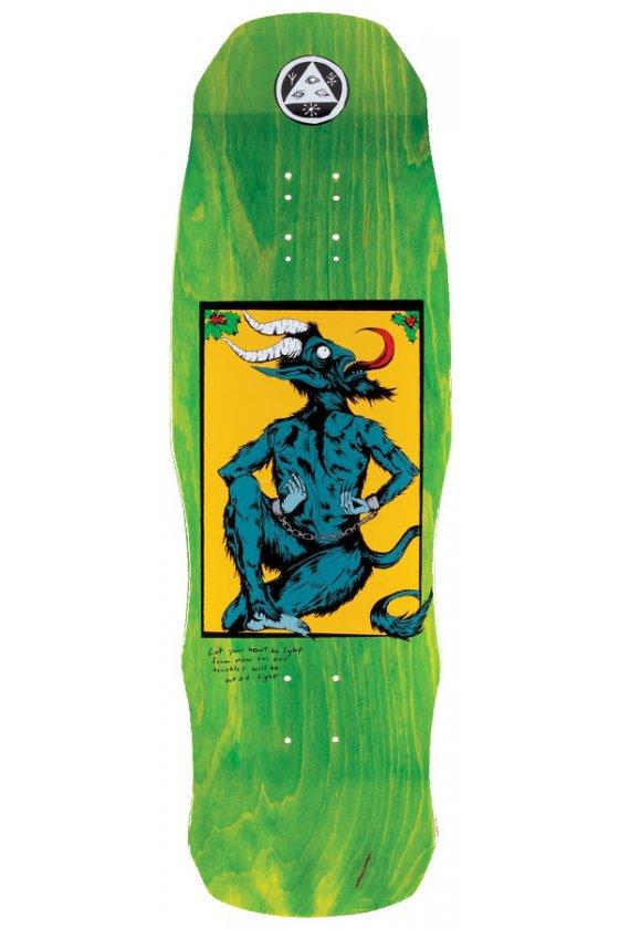 """Welcome - Team Krampus Green 9.75"""" On Dark Lord"""