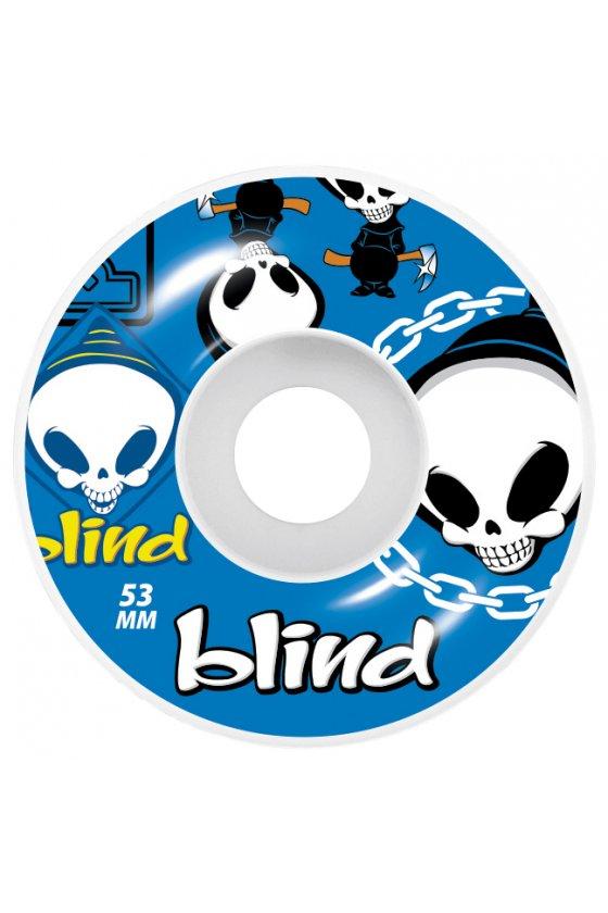 Blind - Random Blue 53mm