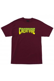 Creature - Creature Logo Burgundy