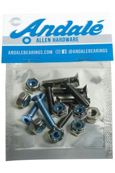 "Andale - Allen Hardware 7/8"" Blue"