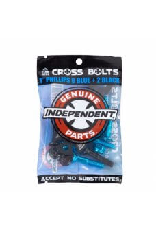 Independent - Genuine Parts Phillips Hardware 1 in Blue/Black w/tool