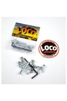 """Loco - 7/8"""" Brugola Silver"""