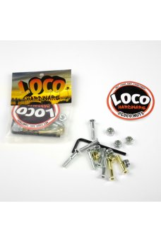 """Loco - 1"""" Brugola Silver E Gold"""