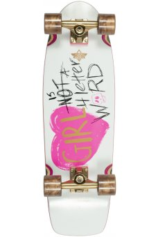 """Dusters - GN4LW Re-Issue Pink White 28.5"""" x 8.75"""" - Wheel Base 15"""" - Tensor 6.0"""" - 62x51mm 83A"""