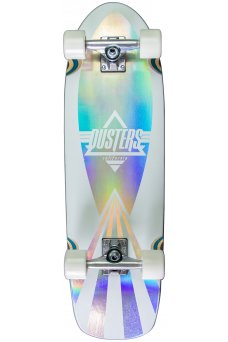 """Dusters - Cazh Cosmic Holographic 29.5"""" x 8.75"""" - 60x43mm 83A - Tensor 5.0"""" - Wheel Base 15.0"""""""
