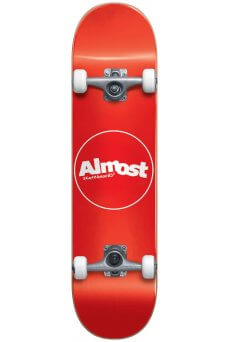 """Almost - Thin Line Fp Mini Red 7.0"""""""