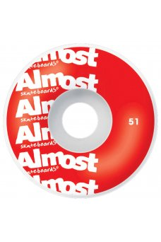 Almost - Thin Line Fp Mini Red 7.0