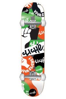 "Cliche - Patch FP Mid Orange Green 7.375"""