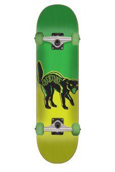 Creature - Black Cat Mini Sk8 7.25in x 29.9in