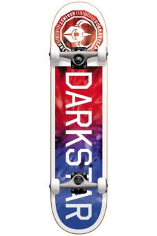 "Darkstar - Timeworks FP Red Blue Tie Dye 7.75"" w/Backpack"