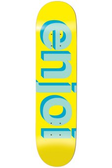 Enjoi - Team Helvetica Neue Yellow 8.0""
