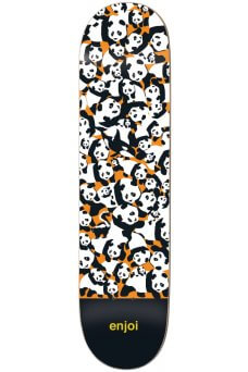 Enjoi - Team Panda Pile Up Orange 8.0""