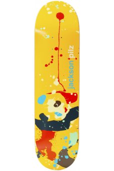 "Enjoi - Splatter Panda Jackson Pilz R7 8.25"""