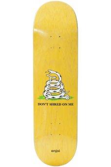 "Enjoi - Team Dont Shred R7 Yellow 8.5"""