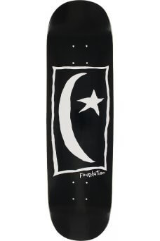 Foundation - Team Star & Moon Square Black 8.25""