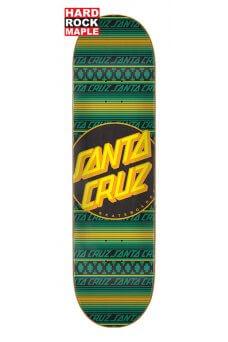 Santa Cruz - Team Serape Dot Hard Rock Maple 8.125in x 31.7in