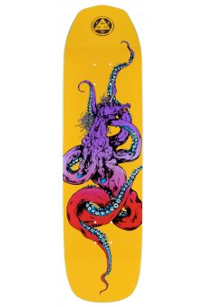 "Welcome - Team Seahorse 2 Yellow 8.25"" On Vimana"