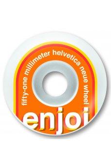 Enjoi - Helvetica Neue Orange 51mm