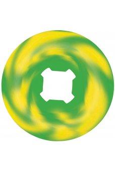 OJ - 56mm Thee Vampire Swirls Bloodsuckers Green Yellow Swirl 97a