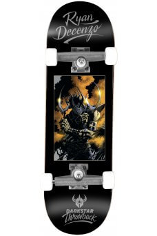 Darkstar - Decenzo Throwback Black Tech Deck