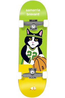 Enjoi - Samarria Cat Magnet Green Tech Deck